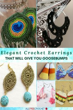 Elegant Crochet Earring Patterns That Will Give You Goosebumps