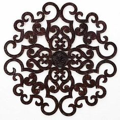camila round scroll wall art 38 wrought iron decorcom