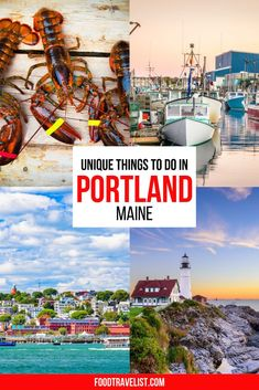 Sure there is plenty of delicious seafood in Portland, Maine. But if you're looking for more you will sure find it. There are many museums, tours, and activities that will keep you busy both day and night. From brewery tours, fire truck tours and talking the Eastside Bayside Mural walk you won't know what to experience first.  #VisitPortlandMaine #Maine #USTravel