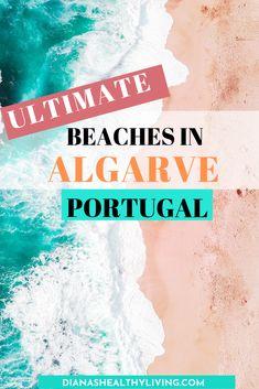 Most Beautiful Beaches in Algarve Portugal Visit the top 15 scenic best beaches in Algarve Portugal Travel Destinations Beach, Europe Destinations, Europe Travel Tips, Beach Travel, Travel Pics, European Travel, Algarve, Destin Beach, Beach Trip