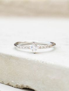 This ring is a gorgeous compliment to our other stacking rings. The ring…