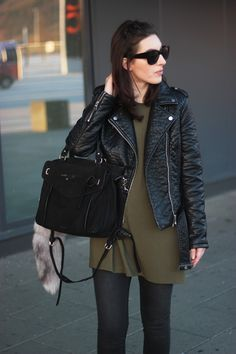 A special shoutout to Ana who brought along her .Kate Lee MAY bag in black ! @Ana Karadzole #katelee #bag #leathergoods #fashion #streetstyle