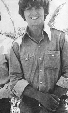 George Harrison in the Bahamas on the set of Help! 1965 <3