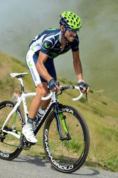 Alejandro Valverde claimed the final mountain stage of this years Tour de France with a solo ride into Peyragudes.via Movistar Team.