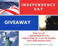We'd love to build a relationship with you, so in honor of Independence Day, we're excited to offer a huge giveaway contest. One winner will receive: One signed copy of American Psalms:…