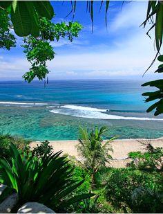 View from Mick's Place, Bingin Beach, Bali, Indonesia. http://www.beyondvillas.com