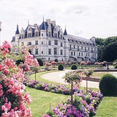 Places: Châtau de Chenonceau, Loire Valley, France #worldtraveler