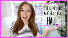 Heyyyyyy :) I have been buying quite a lot of beauty items lately so thought I would film a haul to show you guys what I got! I'm wearing my lip gloss in 'Af. Tanya Burr, British Youtubers, Birthday Makeup, See On Tv, Beauty, Beauty Illustration