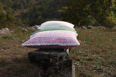 SLOWERS, Organic cotton cushions, 2013 prints
