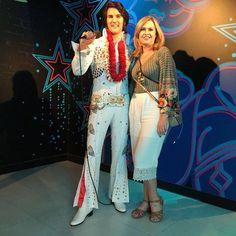 Dia de #tbt  Com o querido Elvis Presley @madame_tussauds_orlando