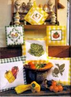 Gallery.ru / Фото #4 - Las Labores de Ana Extra 44 - tymannost Cross Stitch Kitchen, Hot Pads, Painting, Art, Tulips, Crafts, Flowers, Needlepoint, Embroidery