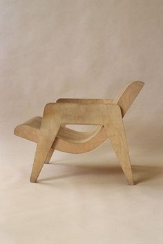 Erno Goldfinger Plywood chairs