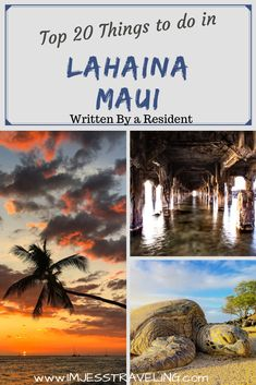 Lahaina is located on West Maui and is my favorite place in the world and I'm lucky enough to be able to call it home. Here are the top 20 things to do in Lahaina, Maui on Front Street written by a local. Enjoy and happy travels! Trip To Maui, Hawaii Vacation, Maui Hawaii, Vacation Spots, Hawaii Hotels, Hawaii Honeymoon, Hawaii Life, Vacation Packing, Vacation Ideas