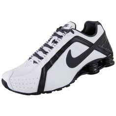 NEW NIKE SHOX JUNIOR Black White MENS 8 Leather Limited NR #NikeShox #RunningCrossTraining