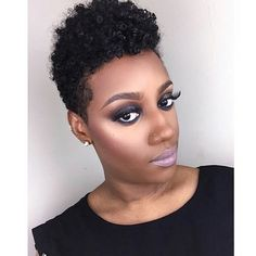 Best Images About Natural Wonders Good Short Kinky Curly Hairstyles Kinky Curly Hair, Curly Hair Styles, Natural Hair Styles, Love Hair, Gorgeous Hair, Beautiful Eyes, Twa Hairstyles, Tapered Hairstyles, Black Hairstyles