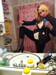Steampunk selfie by pinuppotterhead