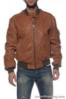 Arrow Rough Look Leather Jacket