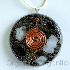 Orgone Energy Orgonite Pendant by OrganiseOrgonite on Etsy, €15.00 More on our Facebook Page https://www.facebook.com/orgoniseorgonite?fref=ts