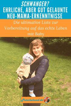 Grafik zu den erstaunlichsten Fakten aus dem Neu-Mama-Alltag auf Patschehand.de zum Pinnen auf Pinterest oder Teilen auf facebook