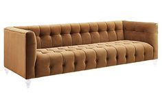 TOV Furniture The Bea Collection Modern Style Velvet Upholstered Living Room Sofa with Lucite Legs Cognac Review https://loveseatreclinersreviews.info/tov-furniture-the-bea-collection-modern-style-velvet-upholstered-living-room-sofa-with-lucite-legs-cognac-review/