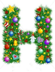 stock-vector-letter-h-christmas-tree-decoration-alphabet-7021198.jpg (360×470)