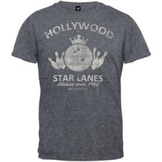 Big Lebowski – Hollywood Star Lanes T-Shirt – 2X-Large