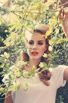 Lovely, especially with the lively green surrounding her<3