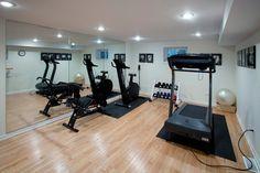 Basement - exercise room