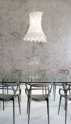 Master by Philippe Starck and Bloom By Feruccio Laviani | Soft living. Pic from Curitiba - Brazil