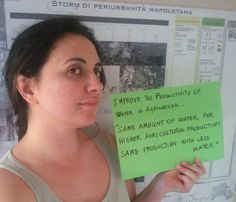 Here comes our member, Luisa Cartesio´s #youthinagselfie from #Italy! @UN_Water #WATERIS #WorldWaterDay