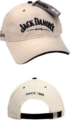 Jack Daniels Men's Daniel's Signature Logo Cap Stone One Size (JD77-77)