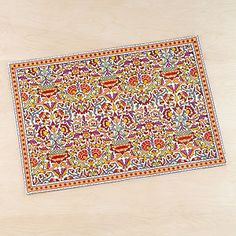 Leela Indian Placemats -- World Market for Christmas!