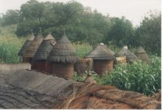 Villages Photo - In Benin Africa