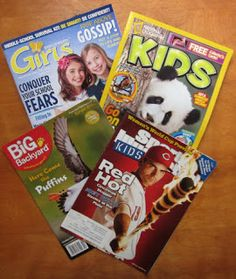 Teaching Informational Text with Magazines - Tips and strategies for using magazines in the classroom and a giveaway of a subscription to Sports Illustrated for Kids