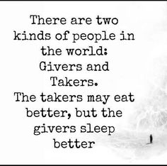 Be giver