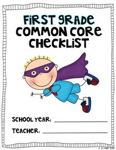 Be a Common Core Superhero!  Use this color coded checklist to document when you have taught to the first grade Common Core Standards.  NOW INCLUDES A LINK TO AN EDITABLE FILE WHERE YOU CAN DOCUMENT DATES FROM YOUR COMPUTER!!!   (You'll need Power Point at this time to do so)  Keep it with your lesson plans (or data notebook) so that you can write down when you have taught to the standard, or if you would rather, mark when you have assessed.