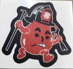 UV Resistive Vinyl  Laminated  5 inch  3.5 inch  2 inch reflective Firefighter Decals, Kool Aid Man, Firefighting, Things To Buy, Minnie Mouse, Disney Characters, Fictional Characters, Art, Art Background