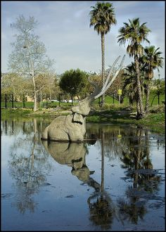 La Brea Tar Pits, Los Angeles. Coolest place to take the kids. http://www.tarpits.org/