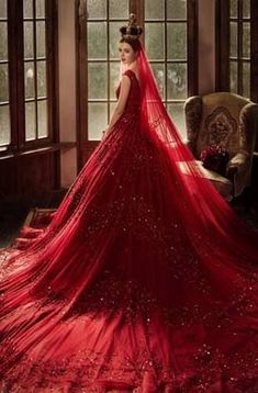 The Red Wedding Dress may represent the perfect choice for the bold bride! Many brides choose to wear red wedding dress! A red wedding dress fits the bill. Red Wedding Gowns, Red Gowns, Bridal Dresses, Prom Dresses, Colored Wedding Dress, White Gowns, Event Dresses, Occasion Dresses, Short Dresses