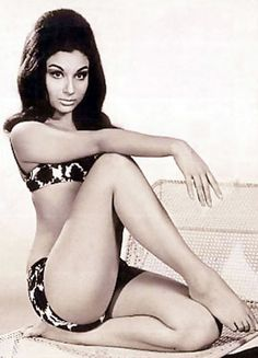 Sharmila Tagore....risky shot for her time