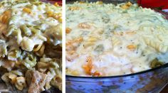 Macaroni with Chicken and Alfredo Sauce!!!  Like it? well You should taste it!