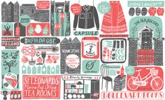 Country Living/ Coast : Alice Pattullo Illustration