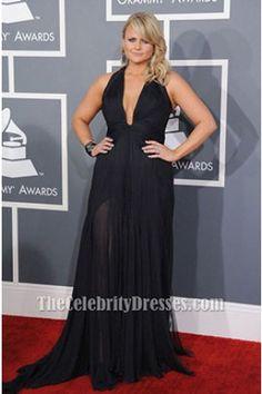 Miranda Lambert Plus Size Prom Dress 2013 Grammy Awards