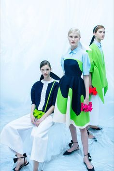 Sfilata Delpozo New York - Pre-collezioni Primavera Estate 2018 - Vogue