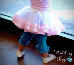 Double Lined Chiffon Pixie Pettiskirt lined by HeartstringThings, $35.00
