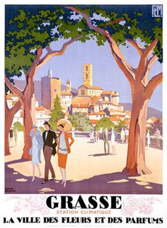 Vintage Travel Posters That Will Make You Want to Visit the South of France