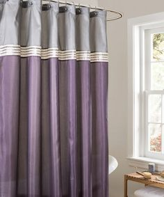 purple and grey shower curtain. Loving this Purple Terra Shower Curtain on  zulily zulilyfinds purple and gray shower curtain Ideas for the House Pinterest