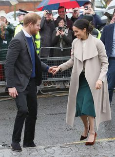 Meghan Markle Shows Off Engagement Ring and Recalls Harry's 'Romantic' Proposal