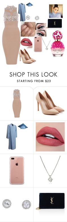 Untitled #65 by jeleeyahl on Polyvore featuring Alexander McQueen, Yves Saint Laurent, Forzieri, Belkin and Marc Jacobs