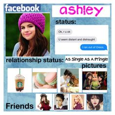 """""""Ashley's facebook"""" by lewiscooke ❤ liked on Polyvore featuring art"""
